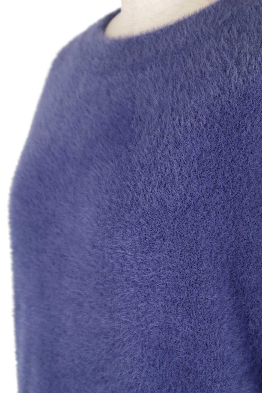 ShaggyknitPullOverTopシャギーニット・ミラノリブニット大人カジュアルに最適な海外ファッションのothers(その他インポートアイテム)のトップスやニット・セーター。ふわふわシャギーが着心地抜群のニットトップス。ミラノリブという編地でしっかりとした編みになっているので保温効果も抜群です。/main-34