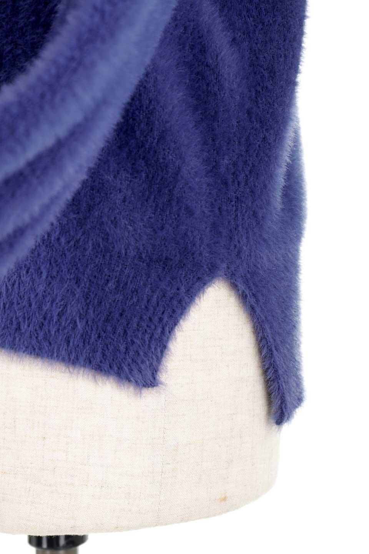 ShaggyknitPullOverTopシャギーニット・ミラノリブニット大人カジュアルに最適な海外ファッションのothers(その他インポートアイテム)のトップスやニット・セーター。ふわふわシャギーが着心地抜群のニットトップス。ミラノリブという編地でしっかりとした編みになっているので保温効果も抜群です。/main-38