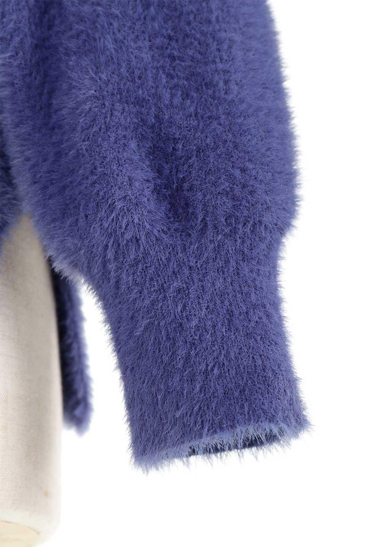 ShaggyknitPullOverTopシャギーニット・ミラノリブニット大人カジュアルに最適な海外ファッションのothers(その他インポートアイテム)のトップスやニット・セーター。ふわふわシャギーが着心地抜群のニットトップス。ミラノリブという編地でしっかりとした編みになっているので保温効果も抜群です。/main-39