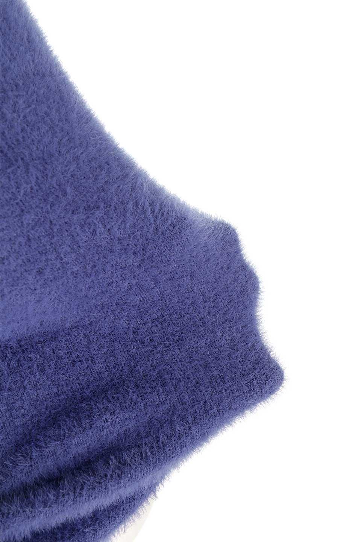 ShaggyknitPullOverTopシャギーニット・ミラノリブニット大人カジュアルに最適な海外ファッションのothers(その他インポートアイテム)のトップスやニット・セーター。ふわふわシャギーが着心地抜群のニットトップス。ミラノリブという編地でしっかりとした編みになっているので保温効果も抜群です。/main-41