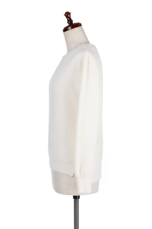 ShaggyknitPullOverTopシャギーニット・ミラノリブニット大人カジュアルに最適な海外ファッションのothers(その他インポートアイテム)のトップスやニット・セーター。ふわふわシャギーが着心地抜群のニットトップス。ミラノリブという編地でしっかりとした編みになっているので保温効果も抜群です。/main-7
