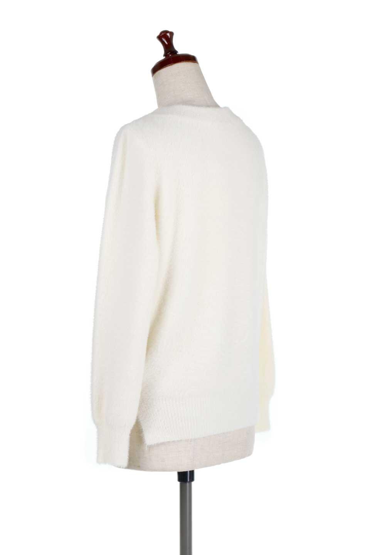 ShaggyknitPullOverTopシャギーニット・ミラノリブニット大人カジュアルに最適な海外ファッションのothers(その他インポートアイテム)のトップスやニット・セーター。ふわふわシャギーが着心地抜群のニットトップス。ミラノリブという編地でしっかりとした編みになっているので保温効果も抜群です。/main-8