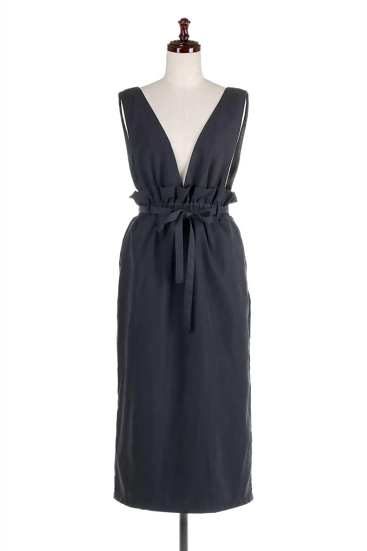 WaistGatheredJumperDressギャザーウエスト・ジャンパースカート大人カジュアルに最適な海外ファッションのothers(その他インポートアイテム)のボトムやスカート。ギャザーのウエストがアクセントのジャンパースカート。ハイウエストで下半身が長く見えます。/main-15