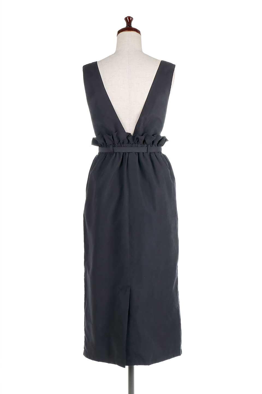 WaistGatheredJumperDressギャザーウエスト・ジャンパースカート大人カジュアルに最適な海外ファッションのothers(その他インポートアイテム)のボトムやスカート。ギャザーのウエストがアクセントのジャンパースカート。ハイウエストで下半身が長く見えます。/main-19