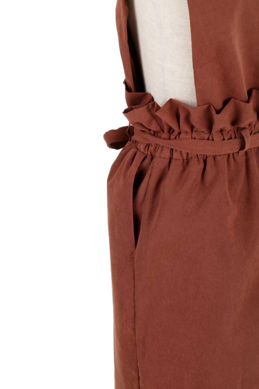 WaistGatheredJumperDressギャザーウエスト・ジャンパースカート大人カジュアルに最適な海外ファッションのothers(その他インポートアイテム)のボトムやスカート。ギャザーのウエストがアクセントのジャンパースカート。ハイウエストで下半身が長く見えます。/main-27