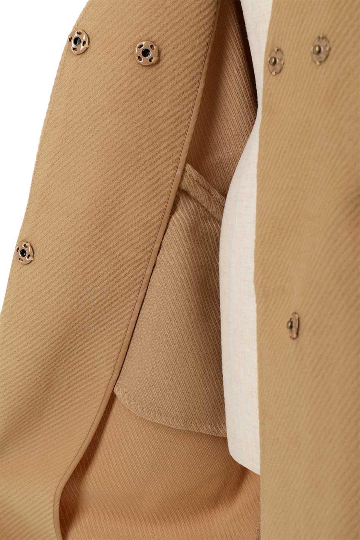 TexturedKnitCollarlessCoatオーバーサイズ・ノーカラーコート大人カジュアルに最適な海外ファッションのothers(その他インポートアイテム)のアウターやコート。シンプルデザインでオーバーサイズのカラーレスコート。タートルネックのニットや、ボリュームのあるスヌードなどを合わせても首元に余裕があるカラーレスタイプ。/main-22
