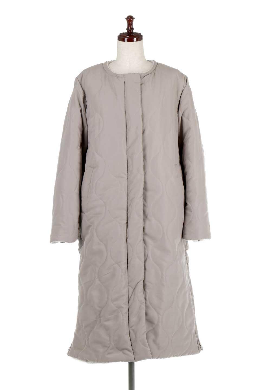 ReversibleShearlingCoatリバーシブル・キルティングコート大人カジュアルに最適な海外ファッションのothers(その他インポートアイテム)のアウターやコート。暖かさ抜群のキルティングのリバーシブルコート。裾や手首まで包み込む中綿とボアが暖かさを逃しません。/main-10