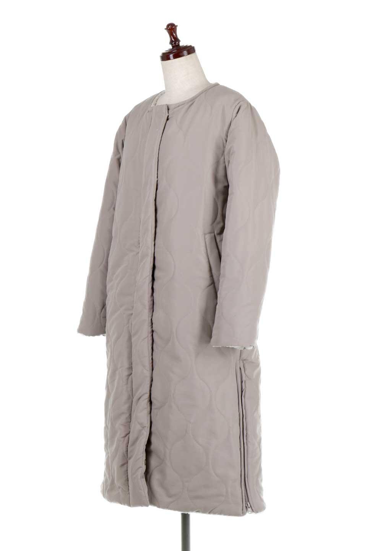 ReversibleShearlingCoatリバーシブル・キルティングコート大人カジュアルに最適な海外ファッションのothers(その他インポートアイテム)のアウターやコート。暖かさ抜群のキルティングのリバーシブルコート。裾や手首まで包み込む中綿とボアが暖かさを逃しません。/main-11