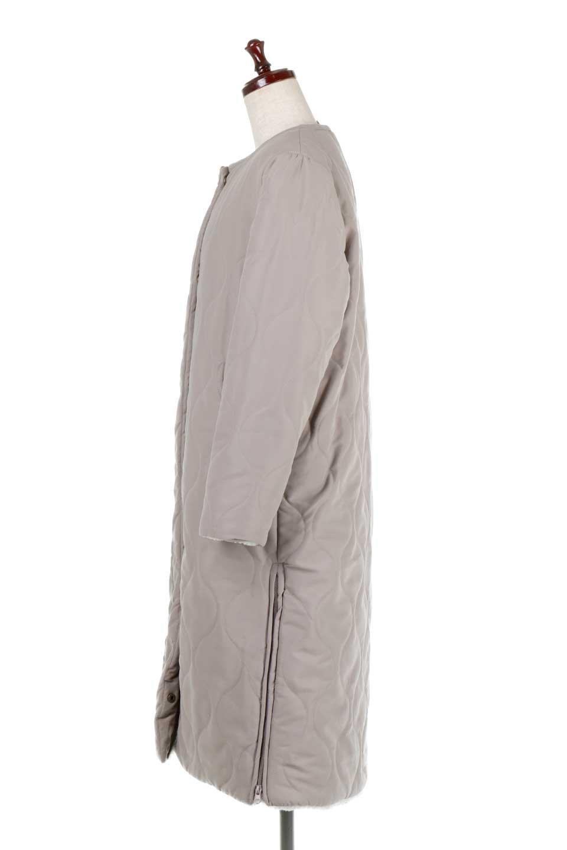 ReversibleShearlingCoatリバーシブル・キルティングコート大人カジュアルに最適な海外ファッションのothers(その他インポートアイテム)のアウターやコート。暖かさ抜群のキルティングのリバーシブルコート。裾や手首まで包み込む中綿とボアが暖かさを逃しません。/main-12