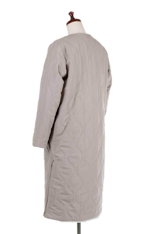 ReversibleShearlingCoatリバーシブル・キルティングコート大人カジュアルに最適な海外ファッションのothers(その他インポートアイテム)のアウターやコート。暖かさ抜群のキルティングのリバーシブルコート。裾や手首まで包み込む中綿とボアが暖かさを逃しません。/main-13