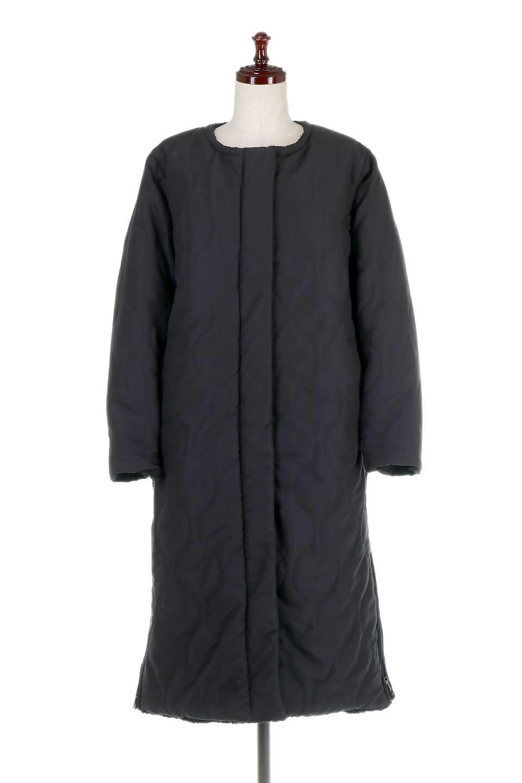 ReversibleShearlingCoatリバーシブル・キルティングコート大人カジュアルに最適な海外ファッションのothers(その他インポートアイテム)のアウターやコート。暖かさ抜群のキルティングのリバーシブルコート。裾や手首まで包み込む中綿とボアが暖かさを逃しません。/main-15
