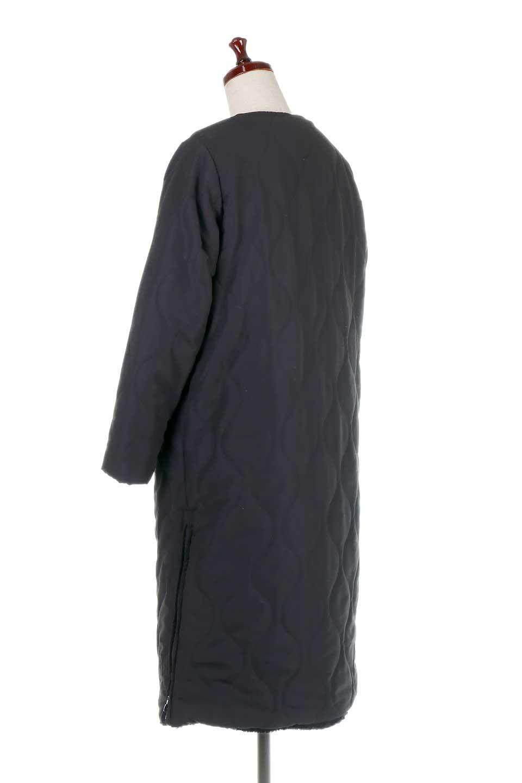 ReversibleShearlingCoatリバーシブル・キルティングコート大人カジュアルに最適な海外ファッションのothers(その他インポートアイテム)のアウターやコート。暖かさ抜群のキルティングのリバーシブルコート。裾や手首まで包み込む中綿とボアが暖かさを逃しません。/main-18