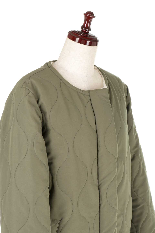 ReversibleShearlingCoatリバーシブル・キルティングコート大人カジュアルに最適な海外ファッションのothers(その他インポートアイテム)のアウターやコート。暖かさ抜群のキルティングのリバーシブルコート。裾や手首まで包み込む中綿とボアが暖かさを逃しません。/main-20