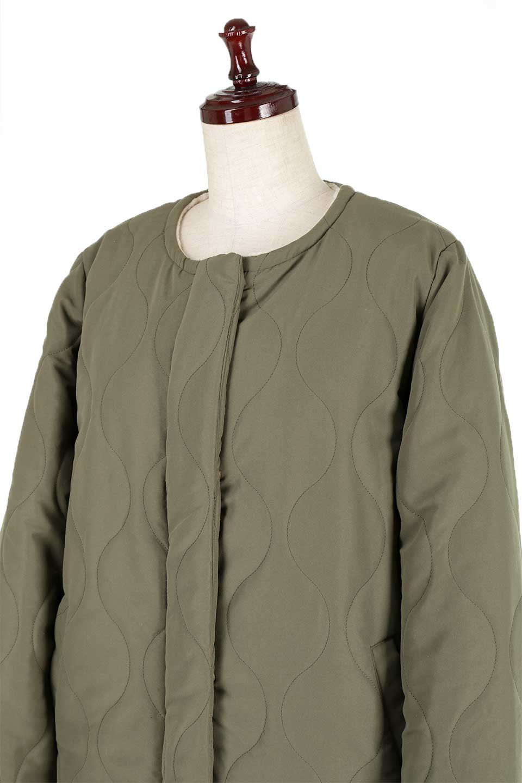 ReversibleShearlingCoatリバーシブル・キルティングコート大人カジュアルに最適な海外ファッションのothers(その他インポートアイテム)のアウターやコート。暖かさ抜群のキルティングのリバーシブルコート。裾や手首まで包み込む中綿とボアが暖かさを逃しません。/main-21