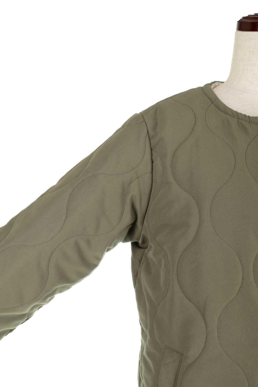 ReversibleShearlingCoatリバーシブル・キルティングコート大人カジュアルに最適な海外ファッションのothers(その他インポートアイテム)のアウターやコート。暖かさ抜群のキルティングのリバーシブルコート。裾や手首まで包み込む中綿とボアが暖かさを逃しません。/main-23
