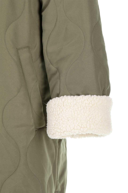 ReversibleShearlingCoatリバーシブル・キルティングコート大人カジュアルに最適な海外ファッションのothers(その他インポートアイテム)のアウターやコート。暖かさ抜群のキルティングのリバーシブルコート。裾や手首まで包み込む中綿とボアが暖かさを逃しません。/main-26