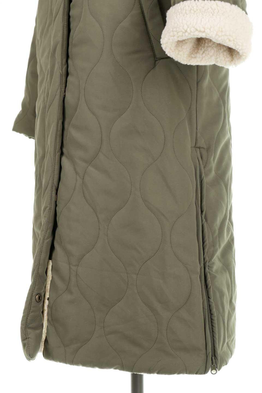 ReversibleShearlingCoatリバーシブル・キルティングコート大人カジュアルに最適な海外ファッションのothers(その他インポートアイテム)のアウターやコート。暖かさ抜群のキルティングのリバーシブルコート。裾や手首まで包み込む中綿とボアが暖かさを逃しません。/main-27