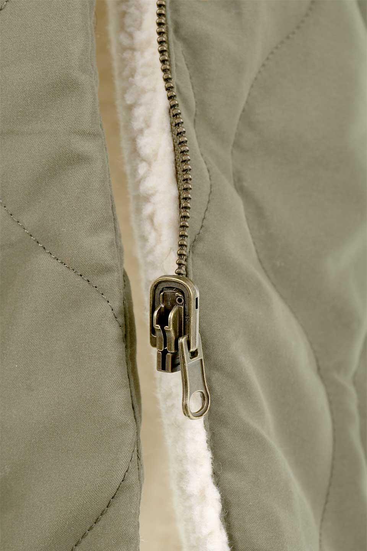 ReversibleShearlingCoatリバーシブル・キルティングコート大人カジュアルに最適な海外ファッションのothers(その他インポートアイテム)のアウターやコート。暖かさ抜群のキルティングのリバーシブルコート。裾や手首まで包み込む中綿とボアが暖かさを逃しません。/main-30