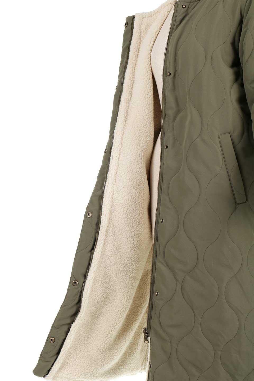 ReversibleShearlingCoatリバーシブル・キルティングコート大人カジュアルに最適な海外ファッションのothers(その他インポートアイテム)のアウターやコート。暖かさ抜群のキルティングのリバーシブルコート。裾や手首まで包み込む中綿とボアが暖かさを逃しません。/main-31