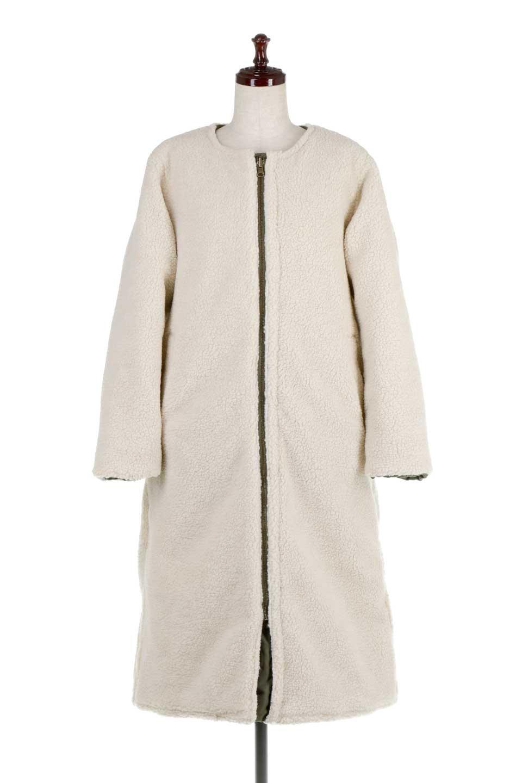 ReversibleShearlingCoatリバーシブル・キルティングコート大人カジュアルに最適な海外ファッションのothers(その他インポートアイテム)のアウターやコート。暖かさ抜群のキルティングのリバーシブルコート。裾や手首まで包み込む中綿とボアが暖かさを逃しません。/main-32