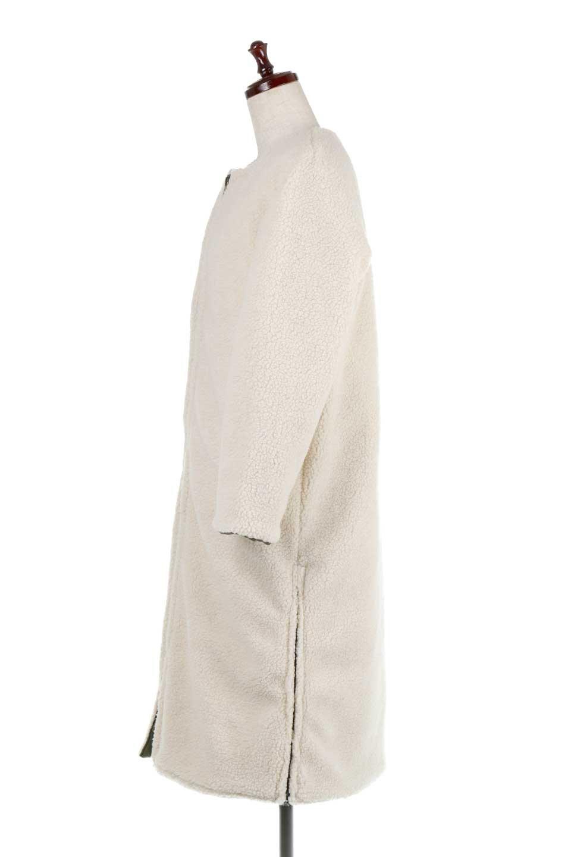 ReversibleShearlingCoatリバーシブル・キルティングコート大人カジュアルに最適な海外ファッションのothers(その他インポートアイテム)のアウターやコート。暖かさ抜群のキルティングのリバーシブルコート。裾や手首まで包み込む中綿とボアが暖かさを逃しません。/main-34