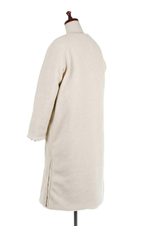 ReversibleShearlingCoatリバーシブル・キルティングコート大人カジュアルに最適な海外ファッションのothers(その他インポートアイテム)のアウターやコート。暖かさ抜群のキルティングのリバーシブルコート。裾や手首まで包み込む中綿とボアが暖かさを逃しません。/main-35