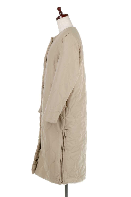 ReversibleShearlingCoatリバーシブル・キルティングコート大人カジュアルに最適な海外ファッションのothers(その他インポートアイテム)のアウターやコート。暖かさ抜群のキルティングのリバーシブルコート。裾や手首まで包み込む中綿とボアが暖かさを逃しません。/main-7