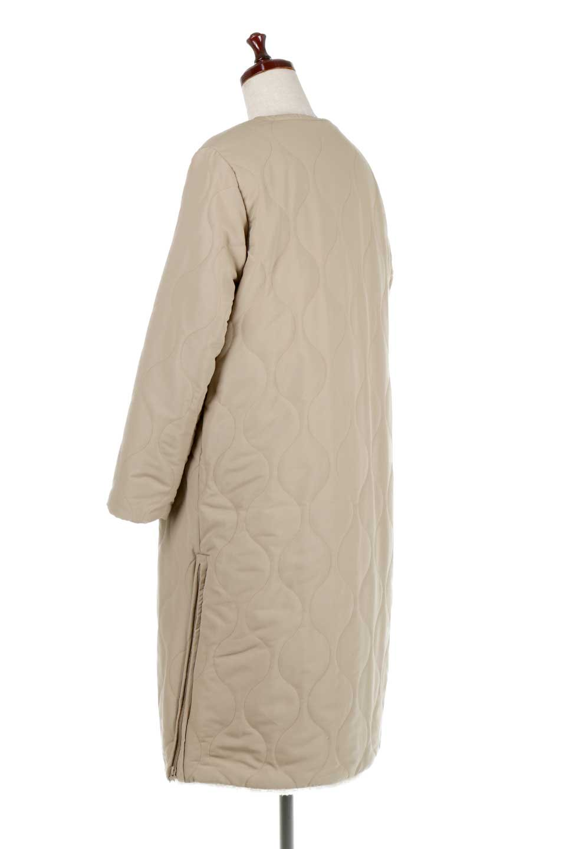 ReversibleShearlingCoatリバーシブル・キルティングコート大人カジュアルに最適な海外ファッションのothers(その他インポートアイテム)のアウターやコート。暖かさ抜群のキルティングのリバーシブルコート。裾や手首まで包み込む中綿とボアが暖かさを逃しません。/main-8