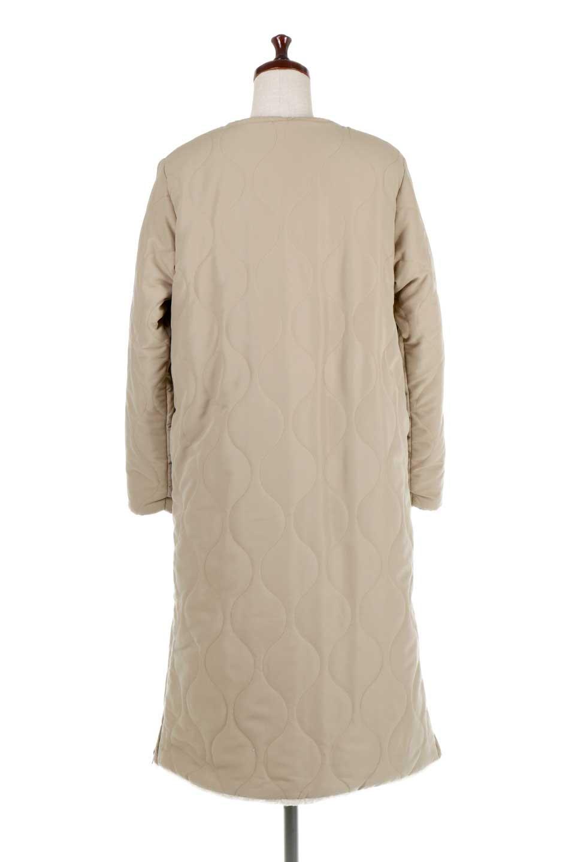 ReversibleShearlingCoatリバーシブル・キルティングコート大人カジュアルに最適な海外ファッションのothers(その他インポートアイテム)のアウターやコート。暖かさ抜群のキルティングのリバーシブルコート。裾や手首まで包み込む中綿とボアが暖かさを逃しません。/main-9