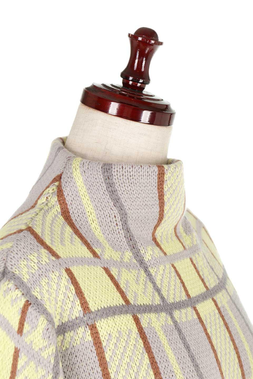 BalloonSleeveMockneckPullOverバルーンスリーブ・モックネックセーター大人カジュアルに最適な海外ファッションのothers(その他インポートアイテム)のトップスやニット・セーター。たっぷりとしたルーズタイプのモックネックがとても可愛いニットのトップス。緩めの身幅で長めの袖はバルーンスリーブ。/main-15