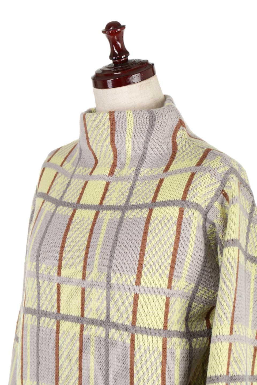 BalloonSleeveMockneckPullOverバルーンスリーブ・モックネックセーター大人カジュアルに最適な海外ファッションのothers(その他インポートアイテム)のトップスやニット・セーター。たっぷりとしたルーズタイプのモックネックがとても可愛いニットのトップス。緩めの身幅で長めの袖はバルーンスリーブ。/main-17