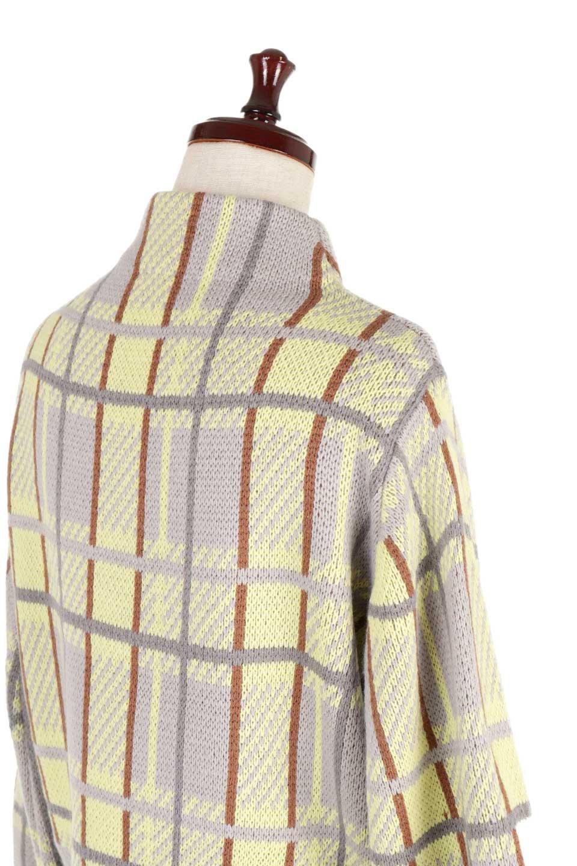 BalloonSleeveMockneckPullOverバルーンスリーブ・モックネックセーター大人カジュアルに最適な海外ファッションのothers(その他インポートアイテム)のトップスやニット・セーター。たっぷりとしたルーズタイプのモックネックがとても可愛いニットのトップス。緩めの身幅で長めの袖はバルーンスリーブ。/main-18
