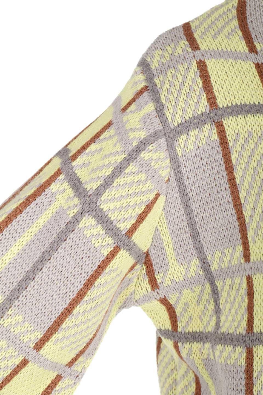 BalloonSleeveMockneckPullOverバルーンスリーブ・モックネックセーター大人カジュアルに最適な海外ファッションのothers(その他インポートアイテム)のトップスやニット・セーター。たっぷりとしたルーズタイプのモックネックがとても可愛いニットのトップス。緩めの身幅で長めの袖はバルーンスリーブ。/main-22
