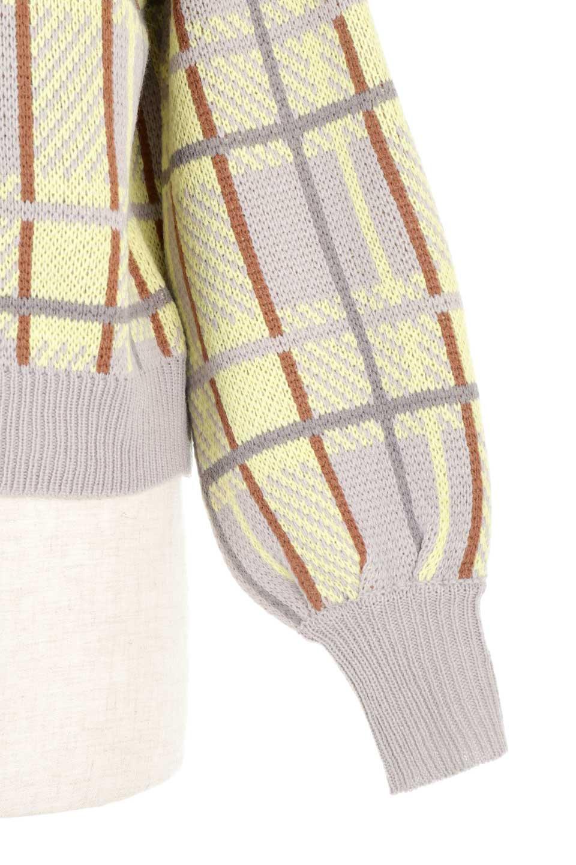 BalloonSleeveMockneckPullOverバルーンスリーブ・モックネックセーター大人カジュアルに最適な海外ファッションのothers(その他インポートアイテム)のトップスやニット・セーター。たっぷりとしたルーズタイプのモックネックがとても可愛いニットのトップス。緩めの身幅で長めの袖はバルーンスリーブ。/main-23