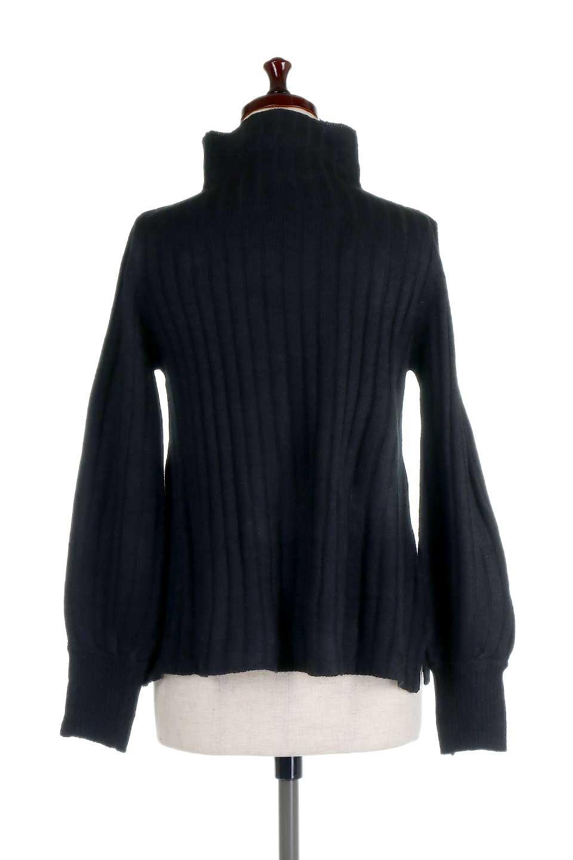 WideRibbedBottleNeckKnitTopワイドリブ・ボトルネックセーター大人カジュアルに最適な海外ファッションのothers(その他インポートアイテム)のトップスやニット・セーター。ゆとりのあるボトルネックが可愛いニットのトップス。緩めのサイズ感と首元のクシュ感が大人気のリブセーター。/main-14