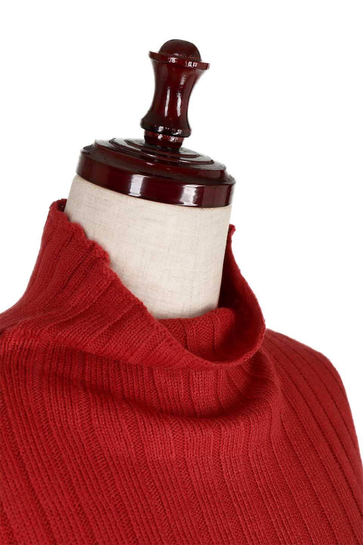 WideRibbedBottleNeckKnitTopワイドリブ・ボトルネックセーター大人カジュアルに最適な海外ファッションのothers(その他インポートアイテム)のトップスやニット・セーター。ゆとりのあるボトルネックが可愛いニットのトップス。緩めのサイズ感と首元のクシュ感が大人気のリブセーター。/main-15