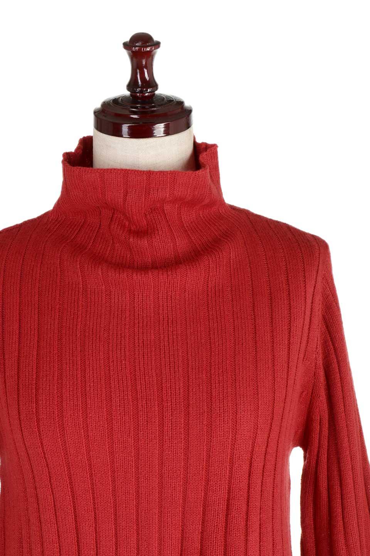 WideRibbedBottleNeckKnitTopワイドリブ・ボトルネックセーター大人カジュアルに最適な海外ファッションのothers(その他インポートアイテム)のトップスやニット・セーター。ゆとりのあるボトルネックが可愛いニットのトップス。緩めのサイズ感と首元のクシュ感が大人気のリブセーター。/main-16