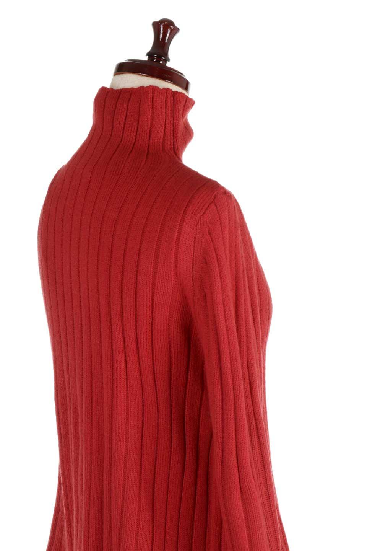 WideRibbedBottleNeckKnitTopワイドリブ・ボトルネックセーター大人カジュアルに最適な海外ファッションのothers(その他インポートアイテム)のトップスやニット・セーター。ゆとりのあるボトルネックが可愛いニットのトップス。緩めのサイズ感と首元のクシュ感が大人気のリブセーター。/main-17