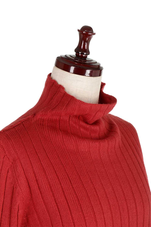 WideRibbedBottleNeckKnitTopワイドリブ・ボトルネックセーター大人カジュアルに最適な海外ファッションのothers(その他インポートアイテム)のトップスやニット・セーター。ゆとりのあるボトルネックが可愛いニットのトップス。緩めのサイズ感と首元のクシュ感が大人気のリブセーター。/main-18