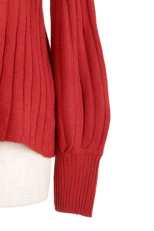 WideRibbedBottleNeckKnitTopワイドリブ・ボトルネックセーター大人カジュアルに最適な海外ファッションのothers(その他インポートアイテム)のトップスやニット・セーター。ゆとりのあるボトルネックが可愛いニットのトップス。緩めのサイズ感と首元のクシュ感が大人気のリブセーター。/main-20