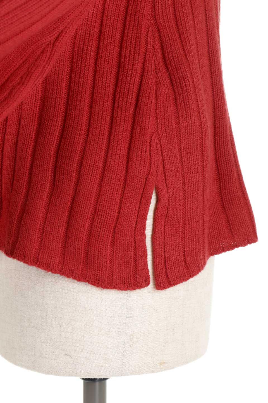 WideRibbedBottleNeckKnitTopワイドリブ・ボトルネックセーター大人カジュアルに最適な海外ファッションのothers(その他インポートアイテム)のトップスやニット・セーター。ゆとりのあるボトルネックが可愛いニットのトップス。緩めのサイズ感と首元のクシュ感が大人気のリブセーター。/main-21