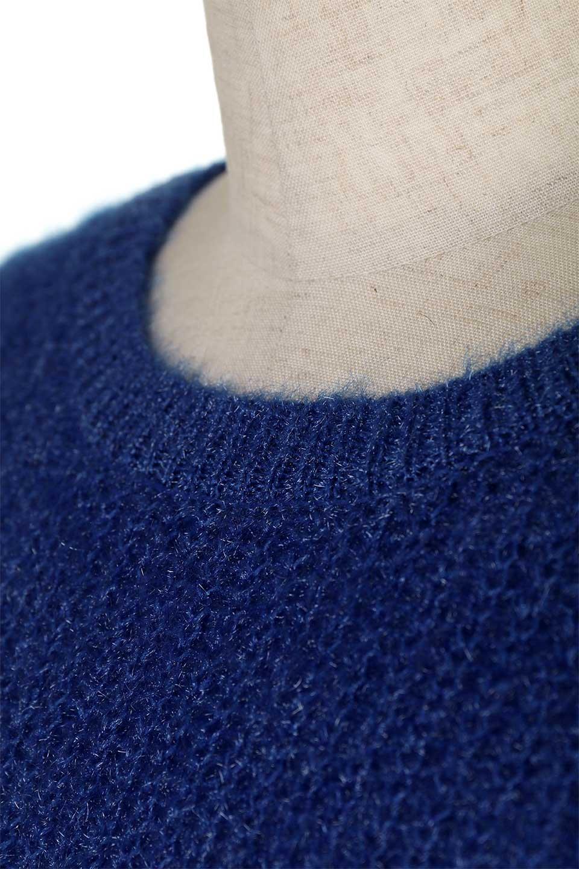SparklyAcrylicmohairKnitTopキラキラモヘア・バルーンスリーブニット大人カジュアルに最適な海外ファッションのothers(その他インポートアイテム)のトップスやニット・セーター。キラキラ輝くアクリルモヘアのニットトップス。オススメポイントはなんと言ってもソフトで肌触りの良い、やや透け感のあるモヘア風のニット素材。/main-23