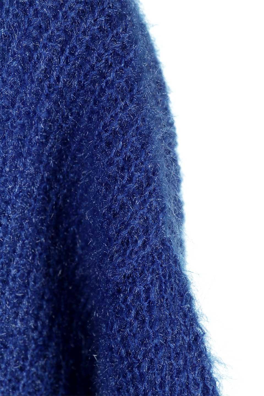 SparklyAcrylicmohairKnitTopキラキラモヘア・バルーンスリーブニット大人カジュアルに最適な海外ファッションのothers(その他インポートアイテム)のトップスやニット・セーター。キラキラ輝くアクリルモヘアのニットトップス。オススメポイントはなんと言ってもソフトで肌触りの良い、やや透け感のあるモヘア風のニット素材。/main-25