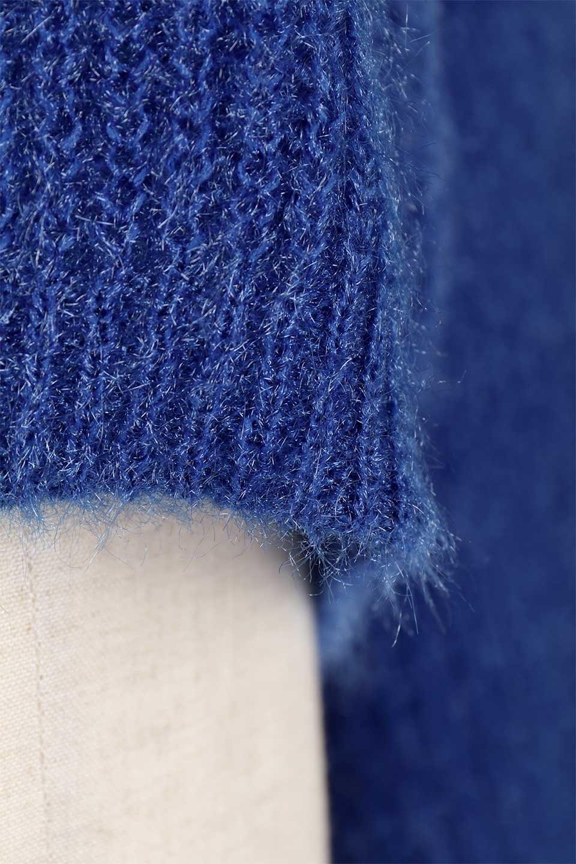 SparklyAcrylicmohairKnitTopキラキラモヘア・バルーンスリーブニット大人カジュアルに最適な海外ファッションのothers(その他インポートアイテム)のトップスやニット・セーター。キラキラ輝くアクリルモヘアのニットトップス。オススメポイントはなんと言ってもソフトで肌触りの良い、やや透け感のあるモヘア風のニット素材。/main-28