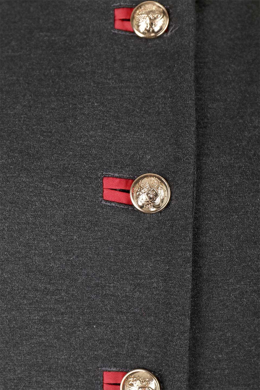 JosephRibkoffのCoat#173308ミリタリー・フレアコート/JosephRibkoffのアウターやコート。赤/金のアクセントカラーが可愛いショート丈のフレアコート。小さめの肩パッド入りでテーラードジャケットのようなしっかりとした作りで、見た目も着心地も上質なコートです。/main-11