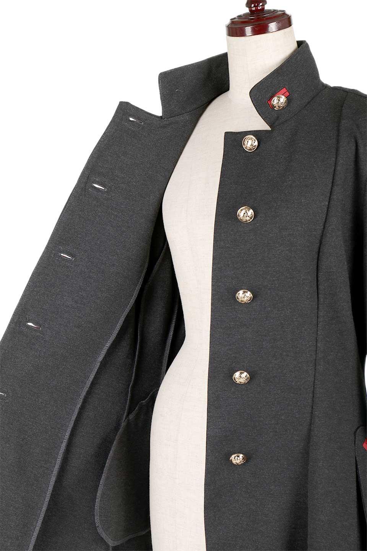 JosephRibkoffのCoat#173308ミリタリー・フレアコート/JosephRibkoffのアウターやコート。赤/金のアクセントカラーが可愛いショート丈のフレアコート。小さめの肩パッド入りでテーラードジャケットのようなしっかりとした作りで、見た目も着心地も上質なコートです。/main-19