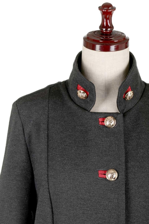 JosephRibkoffのCoat#173308ミリタリー・フレアコート/JosephRibkoffのアウターやコート。赤/金のアクセントカラーが可愛いショート丈のフレアコート。小さめの肩パッド入りでテーラードジャケットのようなしっかりとした作りで、見た目も着心地も上質なコートです。/main-9