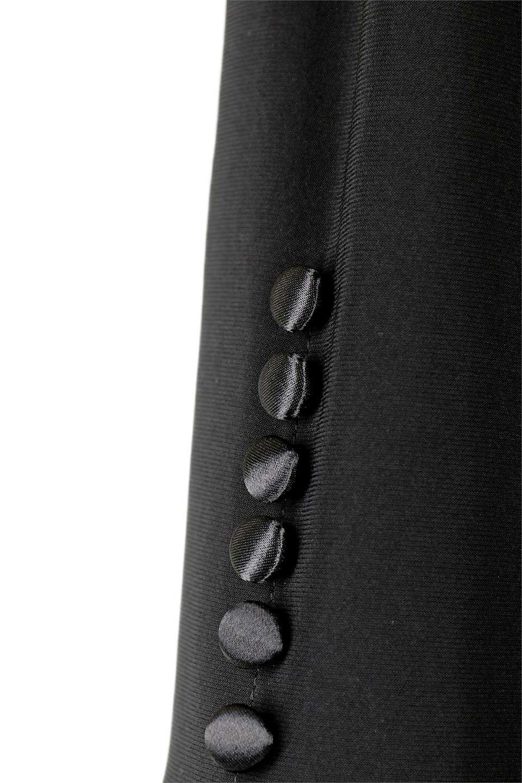 JosephRibkoffのJacket#1611407分袖・テールカットジャケット/JosephRibkoffのアウターやジャケット。ショート丈のノーカラーボタンレス・7分袖ジャケット。肩パッド入りのしっかりとした作りと動きやすいはいストレッチ素材のコンビネーションが素晴らしいジャケットです。/main-9