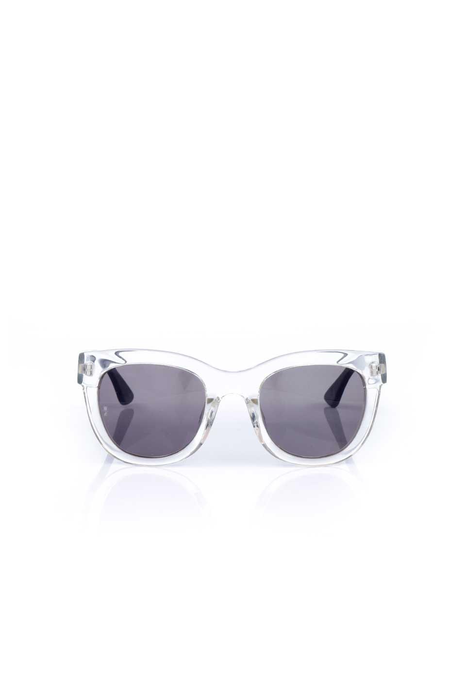 WONDERLANDのCOLONY(03-Clear/GrayLens)コロニー・セルフレーム・サングラス/WONDERLANDのメガネ・サングラスや。アメリカ西海岸のレディースクロージングブランド「STONECOLDFOX」とのコラボレーションモデルです。より女性らしいラウンドしたフレームと特徴的な大きなレンズは、クールな女性を演出してくれると同時に小顔効果が望めます。