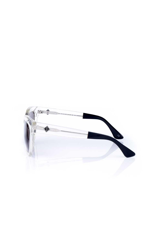 WONDERLANDのCOLONY(03-Clear/GrayLens)コロニー・セルフレーム・サングラス/WONDERLANDのメガネ・サングラスや。アメリカ西海岸のレディースクロージングブランド「STONECOLDFOX」とのコラボレーションモデルです。より女性らしいラウンドしたフレームと特徴的な大きなレンズは、クールな女性を演出してくれると同時に小顔効果が望めます。/main-2